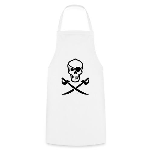 Totenkopf Pirat - Kochschürze