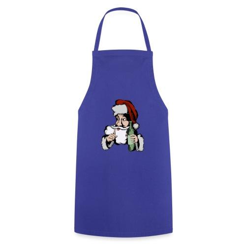 Père Noël Arrive - Santa is coming - Tablier de cuisine