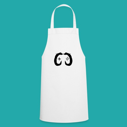 Crowd Control Controller Logo Black Large - Cooking Apron