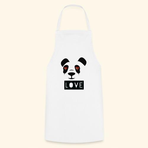 diseño Panda love - Delantal de cocina