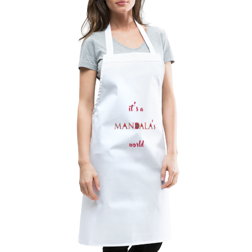 It's a mandala's world - Cooking Apron