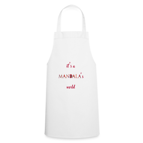 It's a mandala's world - Cooking Apron