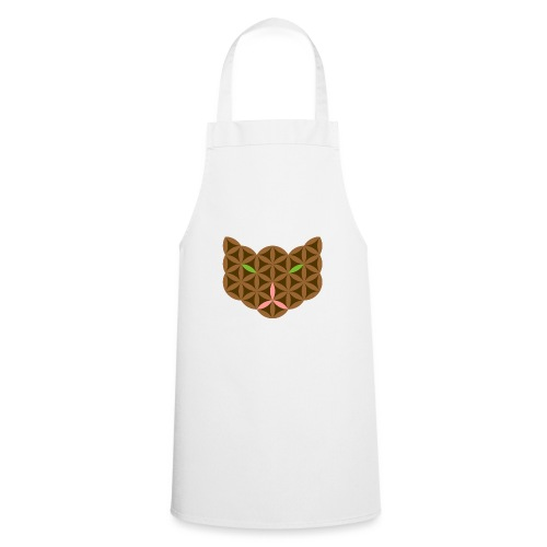 The Cat Of Life - Sacred Animals,C01, Brown. - Cooking Apron
