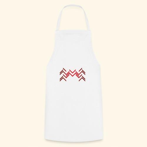Lineas burdeos - Delantal de cocina