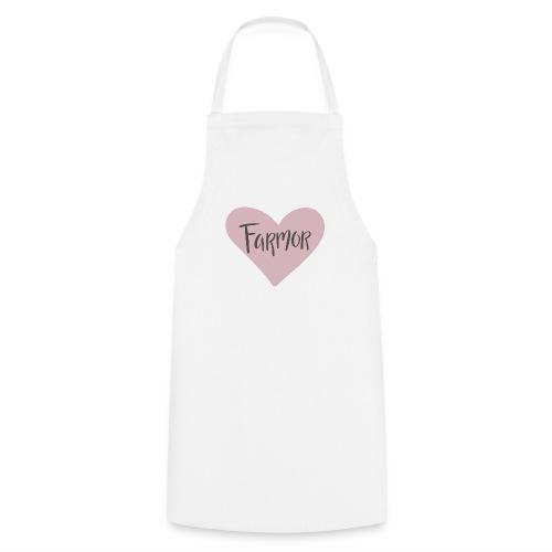 Farmor - hjärta - Förkläde