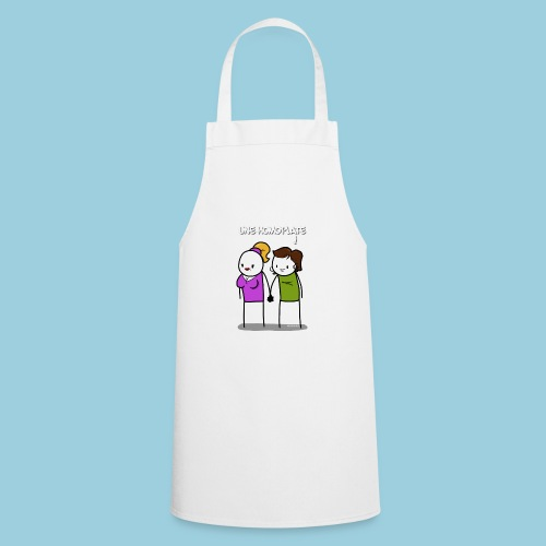 Homoplate blanc - Tablier de cuisine