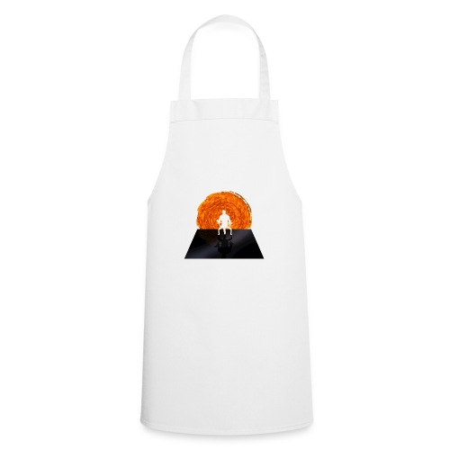 Staring Into the Illusive Sun (Red) - Cooking Apron