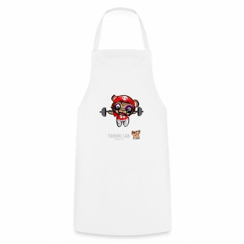 oso deportista - Delantal de cocina