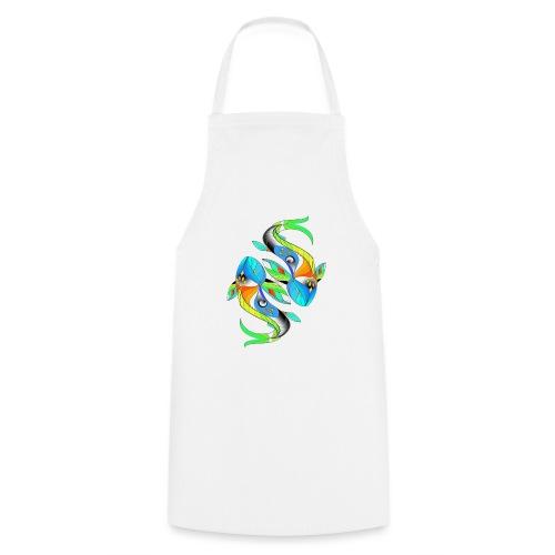 Regenbogenfische - Kochschürze
