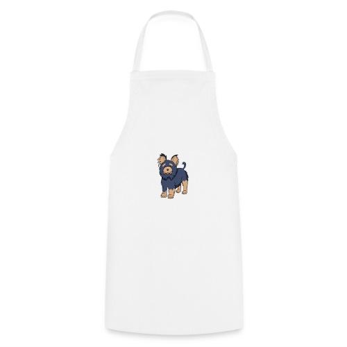 Hund Weiß - Kochschürze