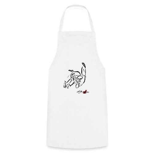 MOROTE SEOI NAGE NERO - Grembiule da cucina