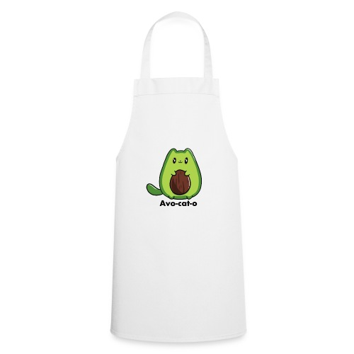 Gatto avocado - Avo - cat - o tutti i motivi - Grembiule da cucina