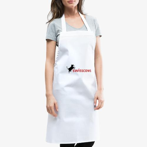 Schwarz-Rot Hoodie - Kochschürze