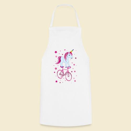 Kunstrad   Einhorn Pink - Kochschürze