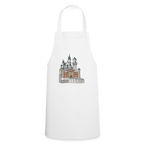 Schloss Neuschwanstein c - Kochschürze