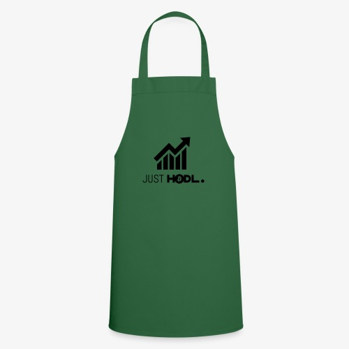 HODL-btc-just-black - Cooking Apron