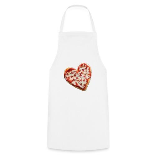 Pizza a cuore - Grembiule da cucina