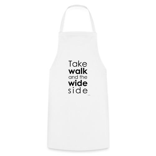 LOU-REDD-walk-black - Cooking Apron