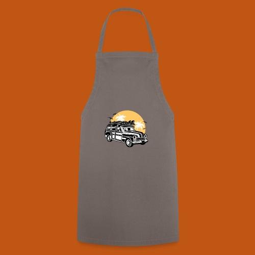 Chevy Cadilac Woodie / Oldtimer Kombi 01_3c - Kochschürze