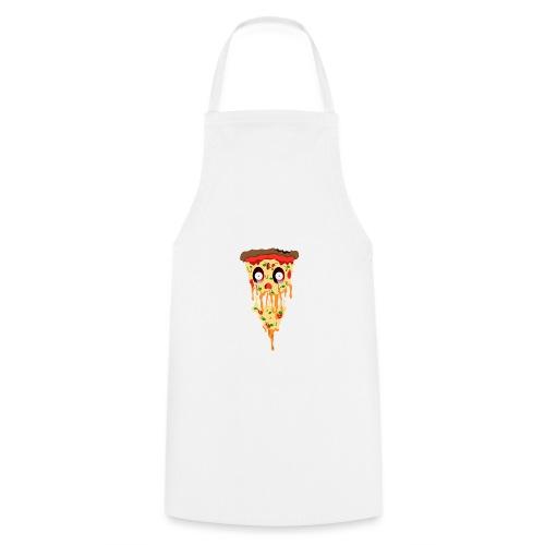 Schockierte Horror Pizza - Kochschürze