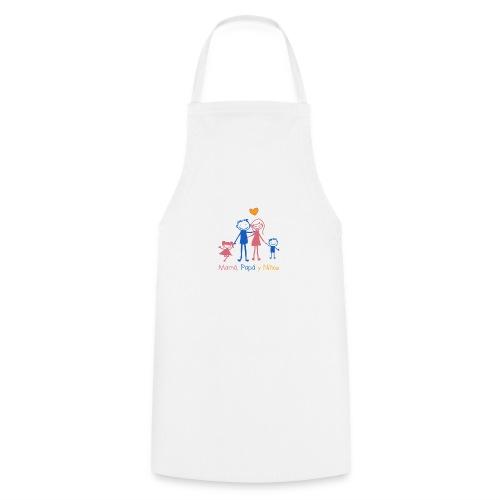 Mamá, Papá y Niños - Delantal de cocina
