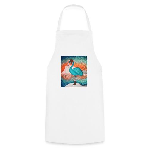 Le Flamant bleu - Tablier de cuisine