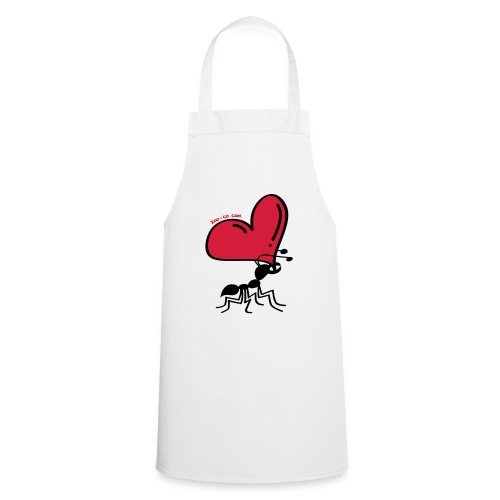 Ant Carrying the Love's Heart - Cooking Apron