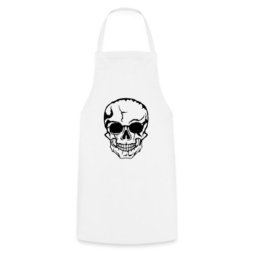 tete de mort halloween horreur dessin 21 - Tablier de cuisine