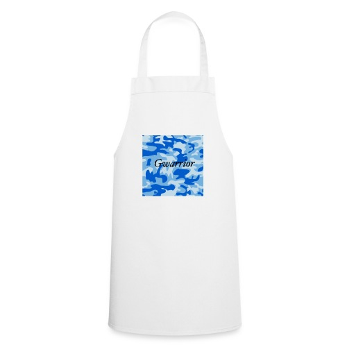 GWARRIOR BLUE CAMMO TSHIRT - Cooking Apron