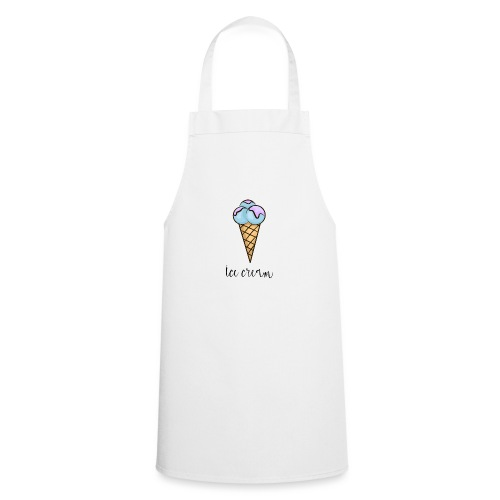 ice cream, halo top ice cream, rolled ice cream - Cooking Apron