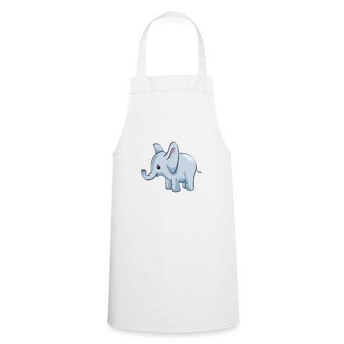 Kindershirt bedrucken günstig Elefant - Kochschürze