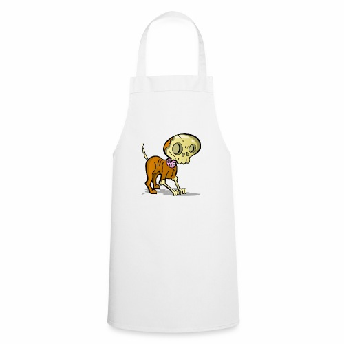 perro zombie - Delantal de cocina