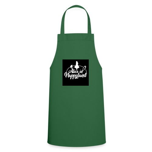 Alice in Nappyland TypographyWhite 1080 - Cooking Apron