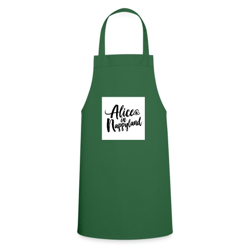 Alice in Nappyland Typography Black 1080 1 - Cooking Apron