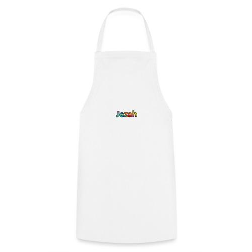 jezah merch text - Cooking Apron