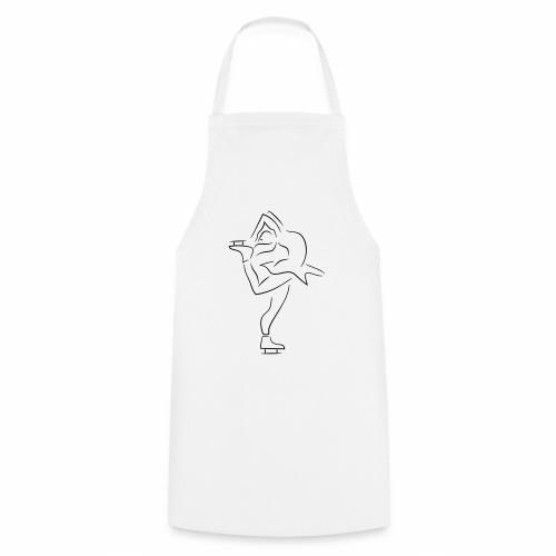 Eiskunstläuferin - Kochschürze