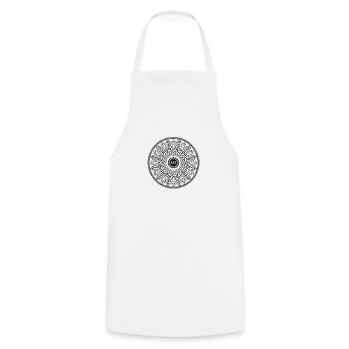 Mandala mit Schriftzug Love - Kochschürze