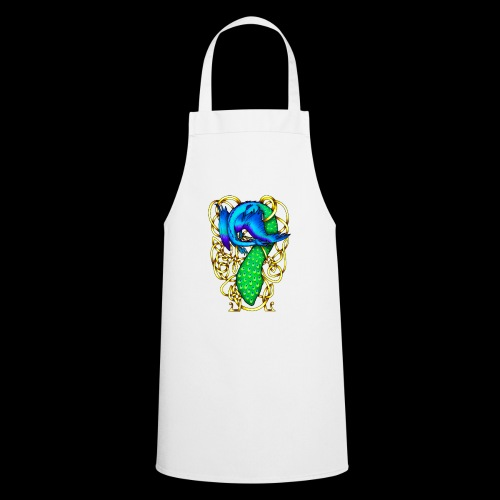 Peacock Dragon - Cooking Apron