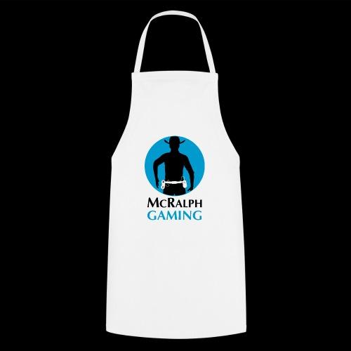 McRalph Gaming Logo 2 Bl - Kochschürze