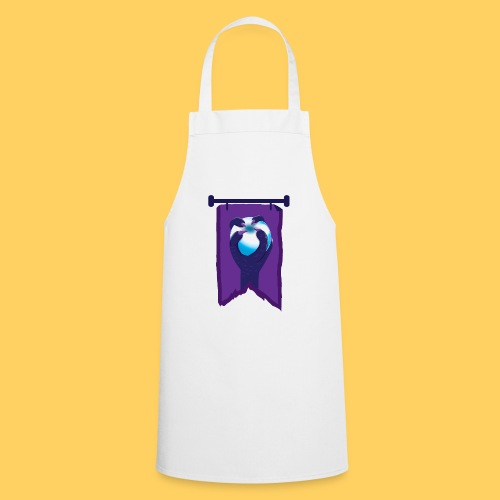 Purple banner with DRAGON fist and orb - Cooking Apron