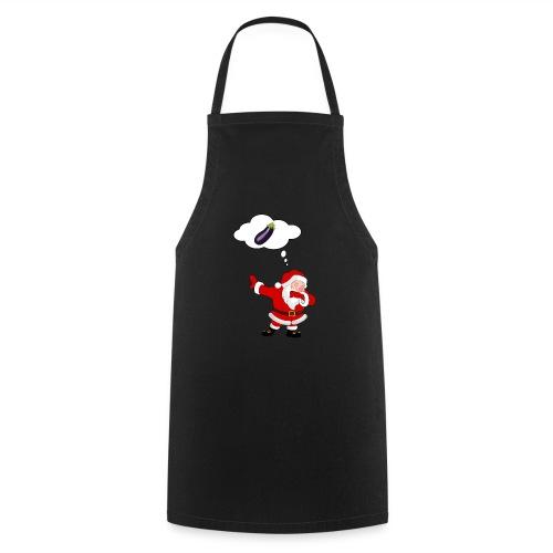 Père Noël aubergine - Tablier de cuisine
