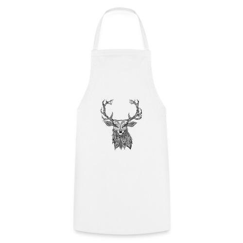 Ornate Buck Deer - Cooking Apron