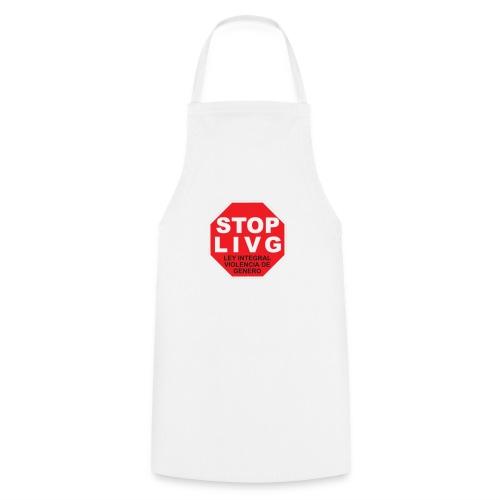 Stop LIVG Ley integral de violencia de Género - Delantal de cocina