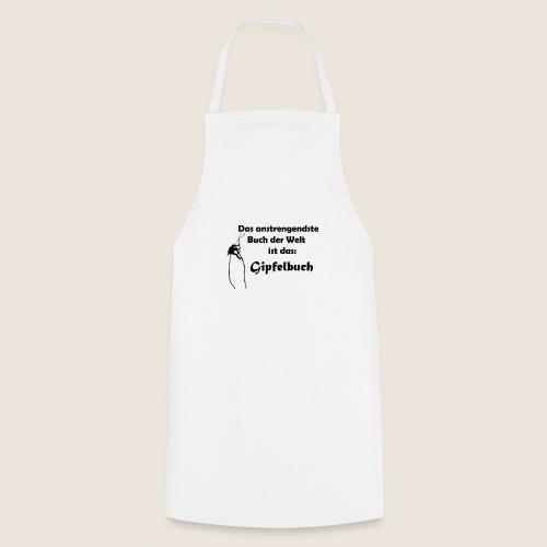 Gipfelbuch - Kochschürze