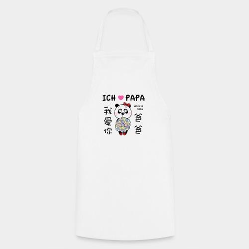JLB Ich liebe Papa 08082017 1 - Kochschürze