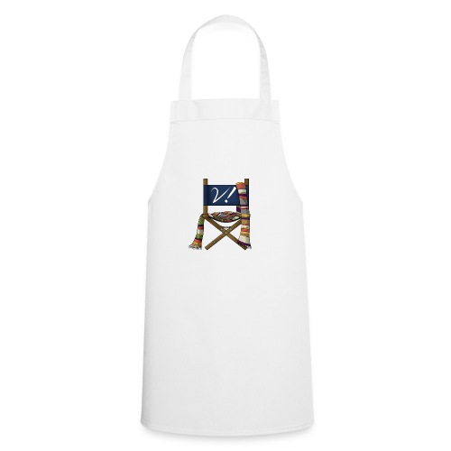 Verity! Podcast Logo - Cooking Apron