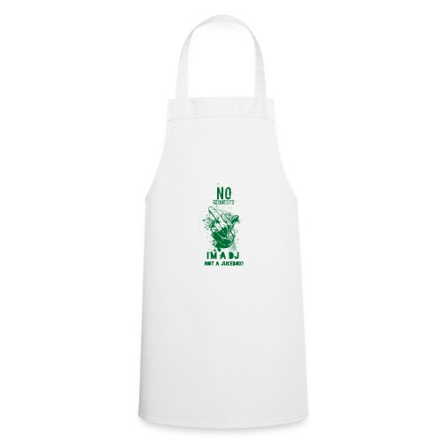 DJ no JukeBox GREEN - Cooking Apron