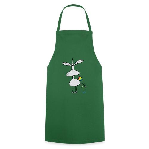 Dru - bunt pinkeln - Kochschürze