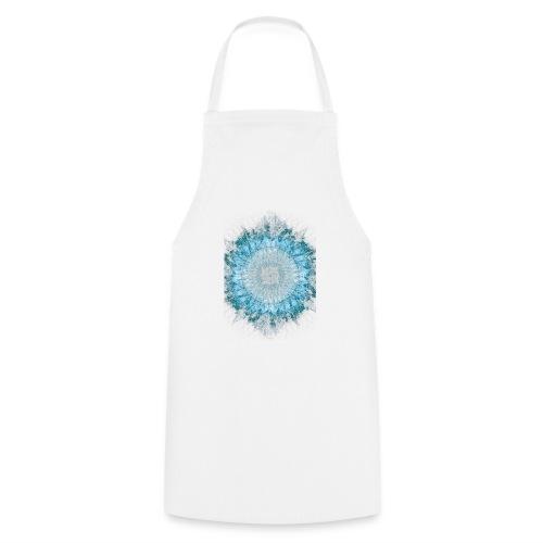 Indigo Blau Mandala - Kochschürze