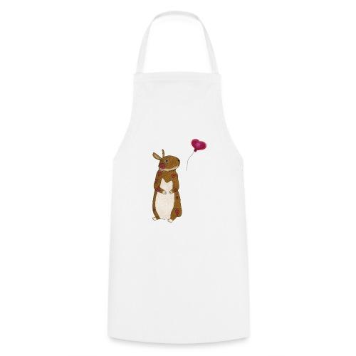 Valentine bunny - Cooking Apron